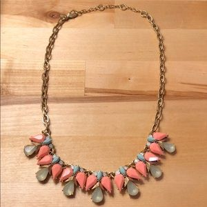J. Crew Angel Wing Necklace